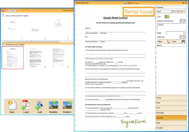 Documalis Free PDF Editor