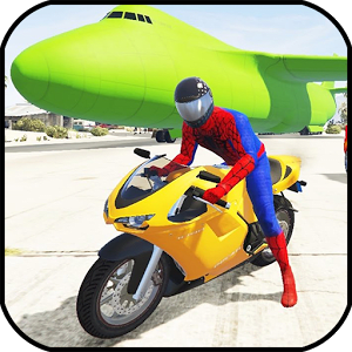 Superheroes city Stunt racing 2018