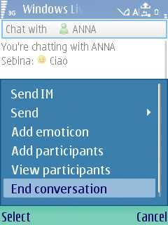Windows Live Messenger Mobile Client