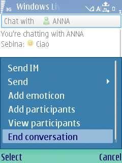 Windows Live Messenger Mobile Client
