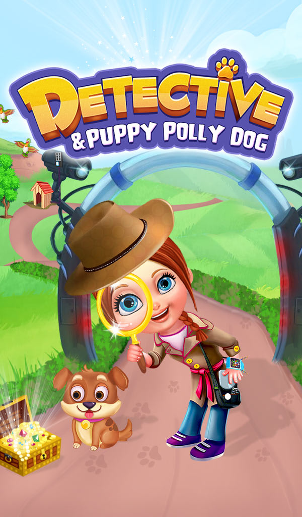 Detective & Puppy Polly Dog