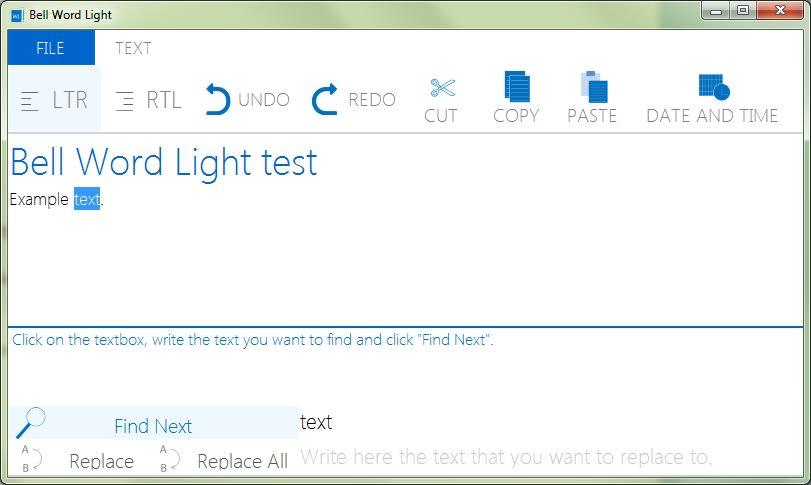 Bell Word Light