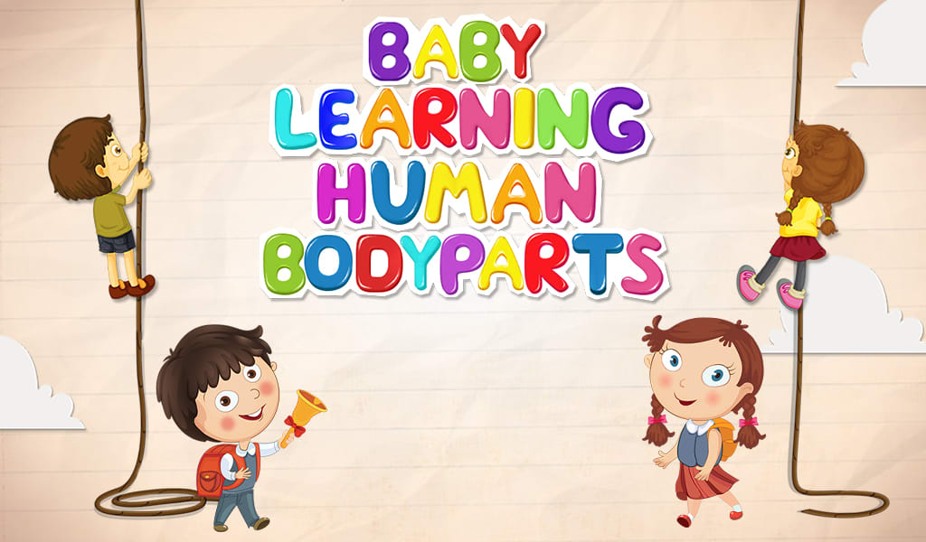 Baby Learning Human Body Parts