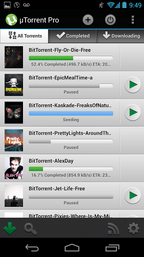 µTorrent® Pro 1.22