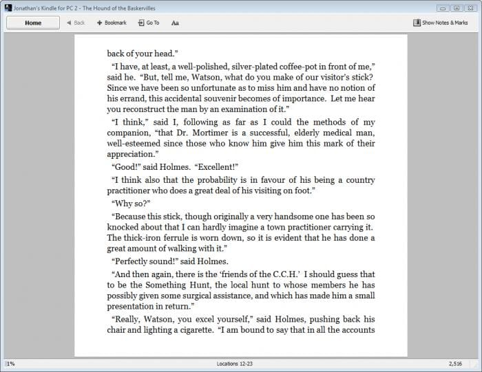 how to  ebook from kindle for pc