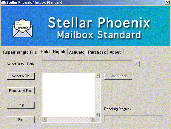 Stellar Phoenix Mailbox Standard - Email Recovery Software