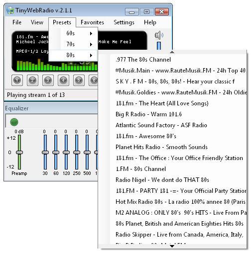 TinyWebRadio