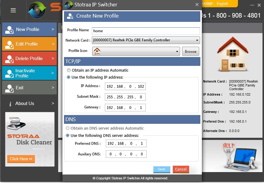 Stotraa IP Switcher