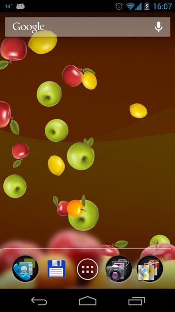 Fruit 3D Live Wallpaper