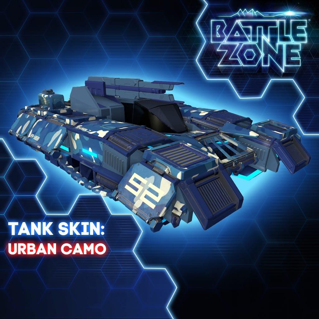 Urban Camo Tank Skin PS VR PS4