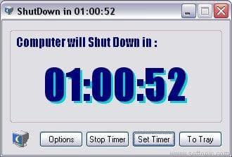 Chrono Shutdown