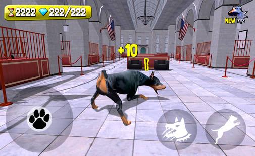 Police Dog Criminal Hunt 3D