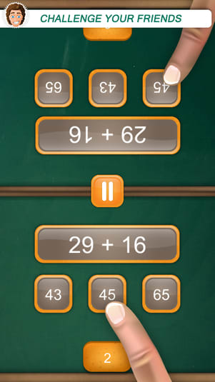 Math Fight Fun 2 Player Duel Game for Free