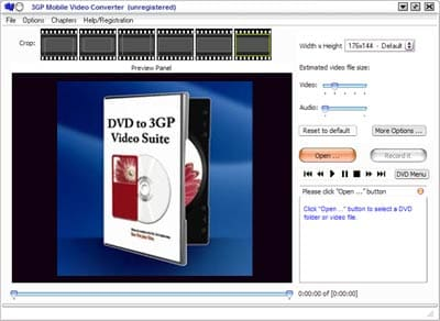 PQ DVD to 3GP Video Suite