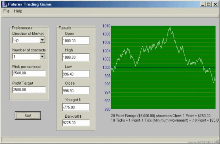Trading Simulation Game
