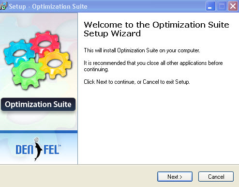 DENFEL Optimization Suite 1.0.2.9071