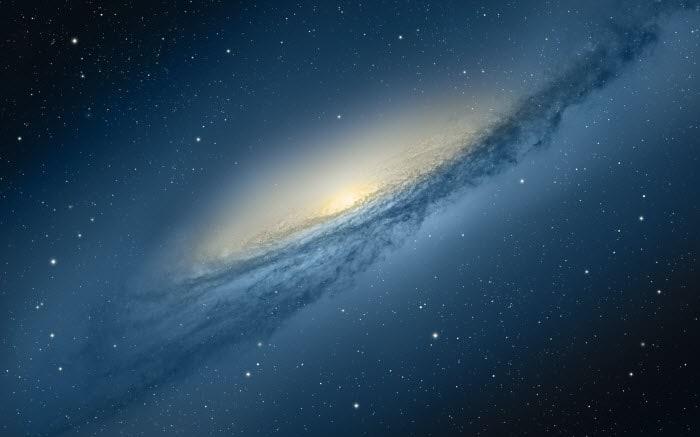 Mountain Lion Galaxy Wallpaper