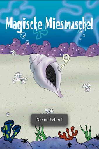 Magische Miesmuschel