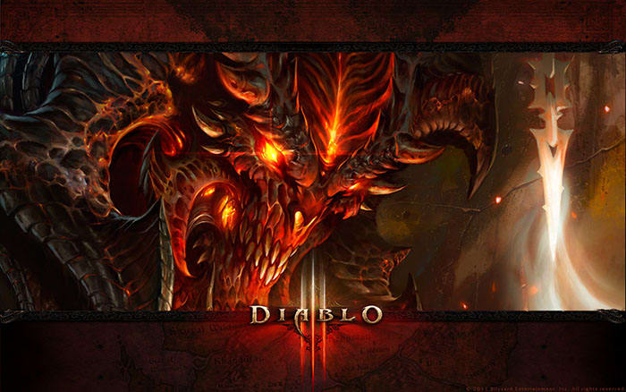 Diablo III Demon Wallpaper