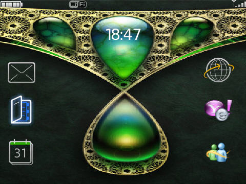 Jewel Bold 9700 Theme