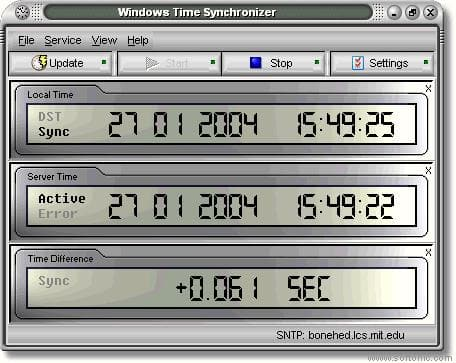 Windows Time Synchronizer