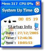 System Up Time Monitor
