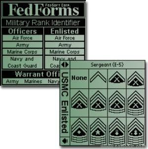 FedForms US Rank & Insignia