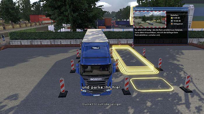 TRUCKS & TRAILERS - Reto aparcamiento