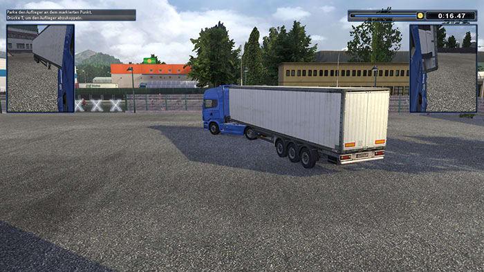 TRUCKS & TRAILERS - Utiliza los retrovisores para maniobrar