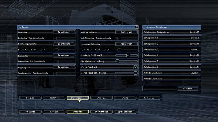 TRUCKS & TRAILERS - Configuración