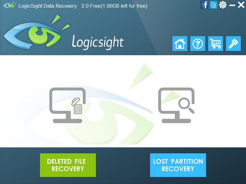LogicSight Data Recovery Free