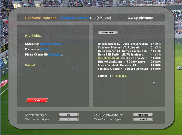 Latte! Fußballmanagement Pur