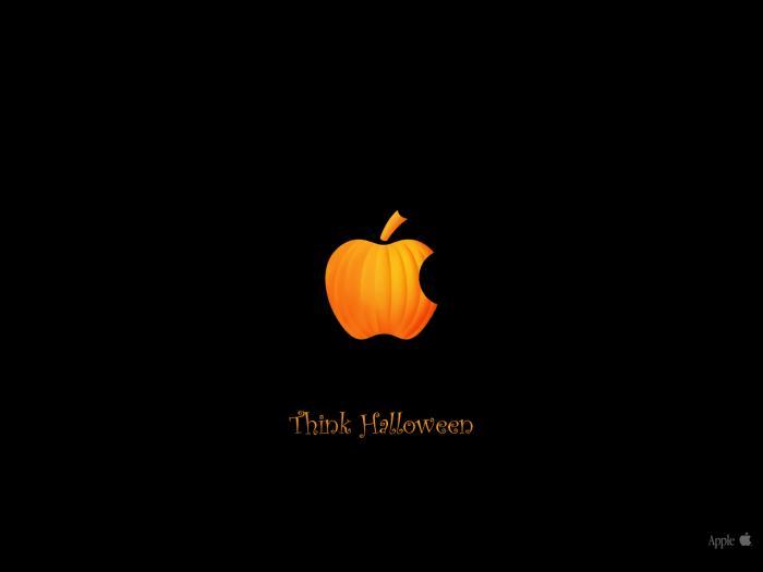 Think Halloween Wallpaper