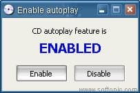 Enable AutoPlay