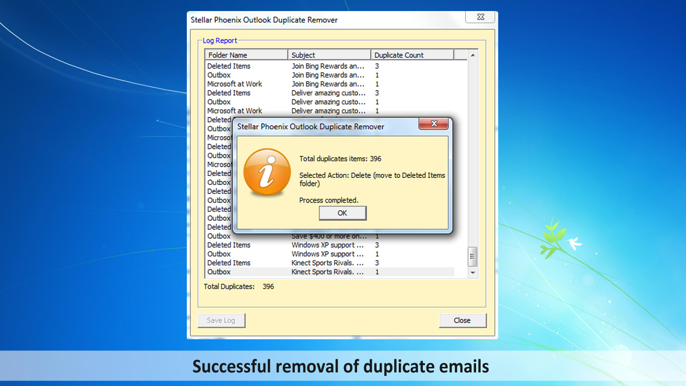 Stellar Phoenix Outlook Duplicate Remover