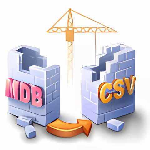 MDB to CSV Converter