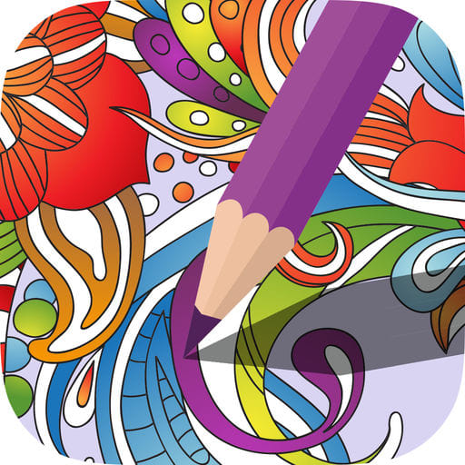 Color Swag-Coloring Pages for Grown Ups. Zentangle Mandala for Free Adult Anxiety Therapy 1.1