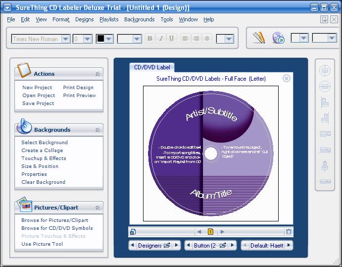 SureThing CD Labeler