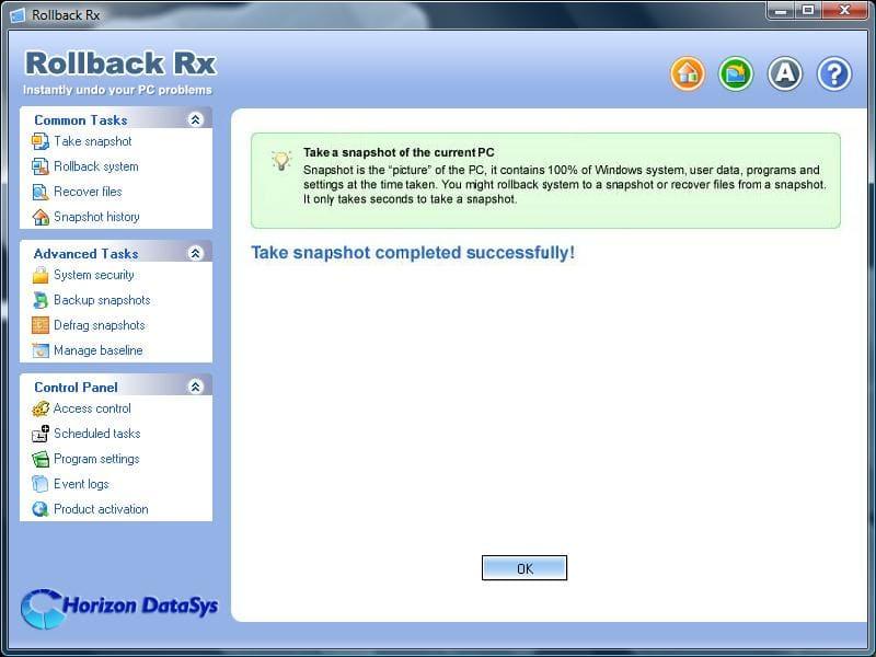 RollBack Rx