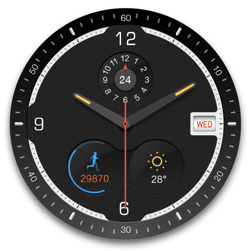 Watch Face - Ticker 1.0.1