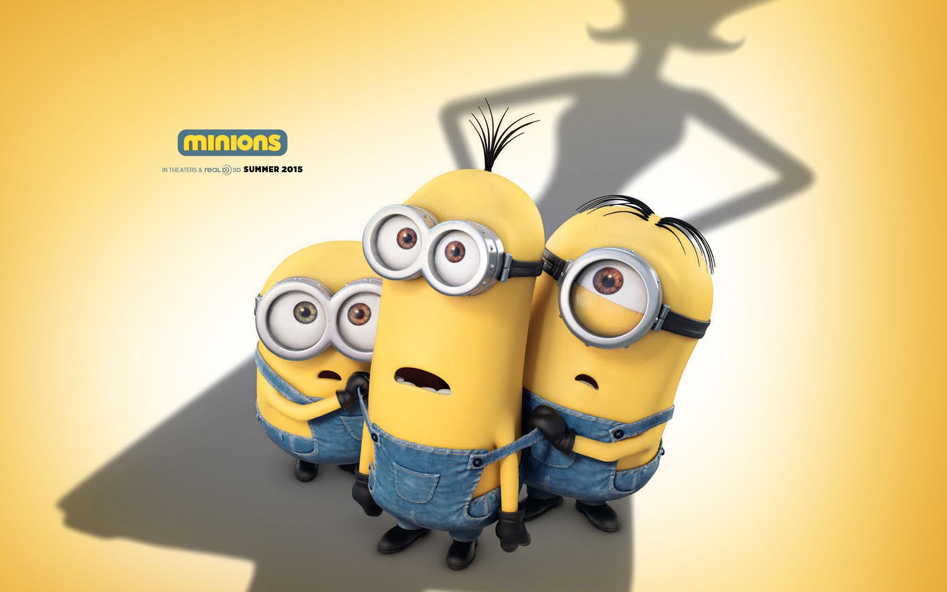 Minions 2015 HD Wallpaper
