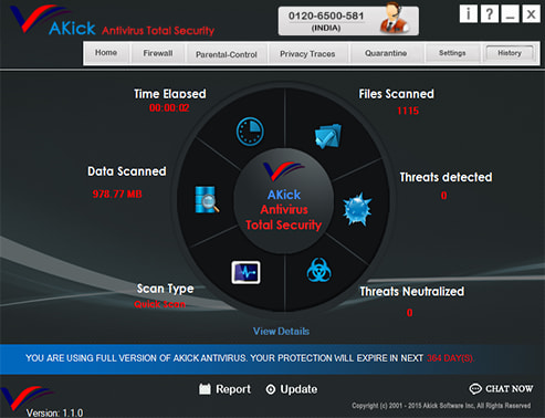 AKick Antivirus Total Security