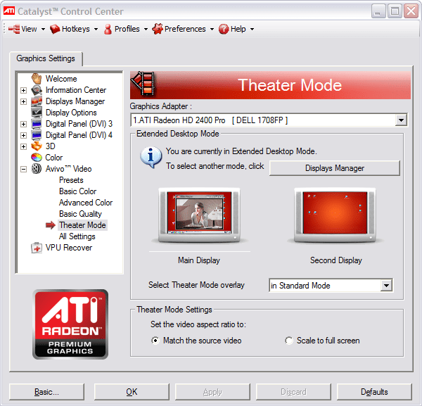 Latest drivers for ATI Radeon X for Windows Vista