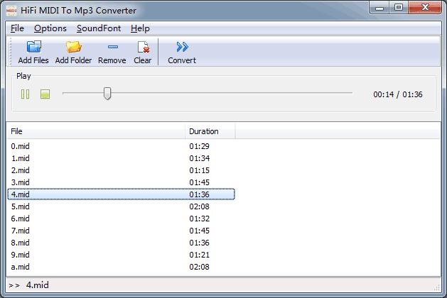 HiFi MIDI To Mp3 Converter