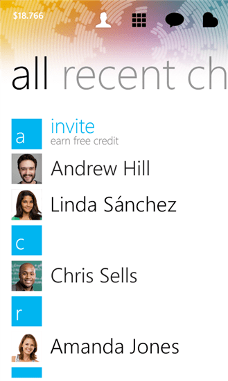 Rebtel for Windows Phone