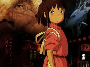 Wallpaper Hayao Miyazaki Chihiros Reise ins Zauberland