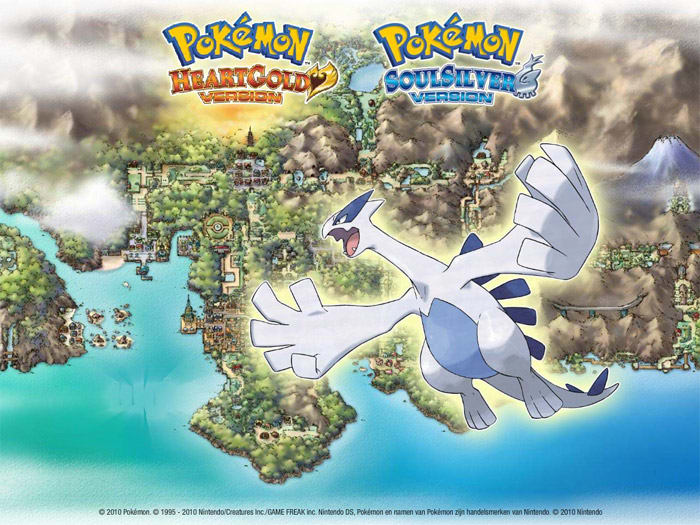 Pokémon HeartGold and SoulSilver Bildschirmschoner
