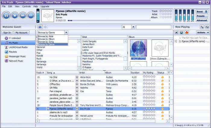 Yahoo! Music Jukebox