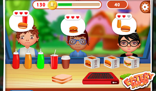 Eatery Shop - Kids Fun Game