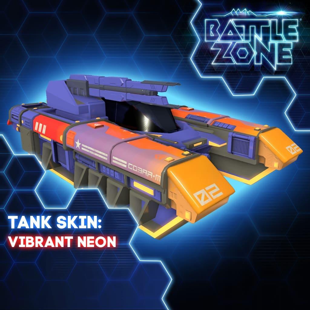 Vibrant Neon Tank Skin PS VR PS4